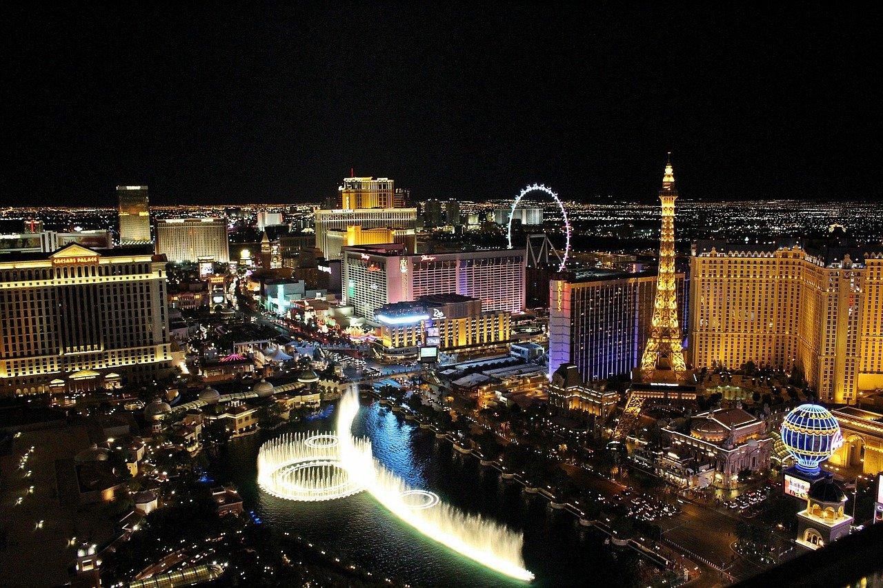 Las Vegas – taidetta ja kasinopelejä samalla kertaa